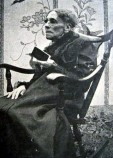 Graphic Fanny Crosby in old age