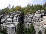 Graphic Rocky Cliff