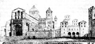 Graphic Cluny Monastery