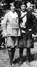 Graphic Mary Edgar (left)